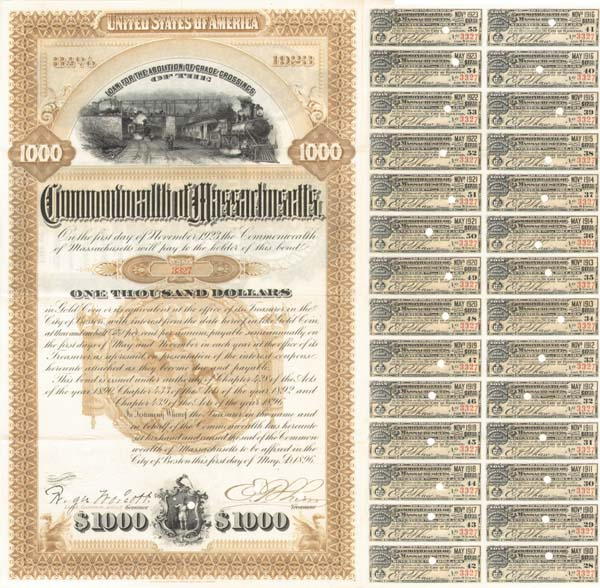 Commonwealth of Massachusetts for Railroad Grade Crossings - Bond