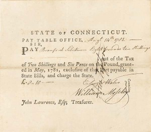 Pay Table Office Order General Huntington