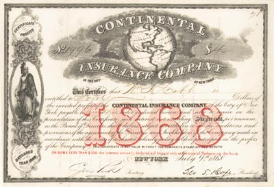 Continental Insurance Co - SOLD