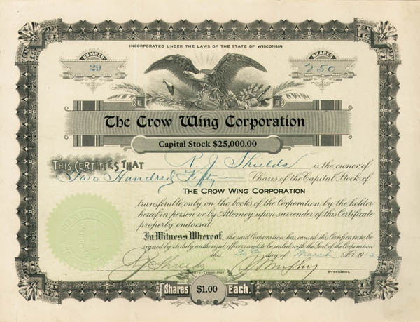 Crow Wing Corp