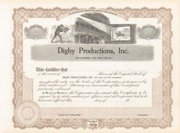 Digby Productions, Inc