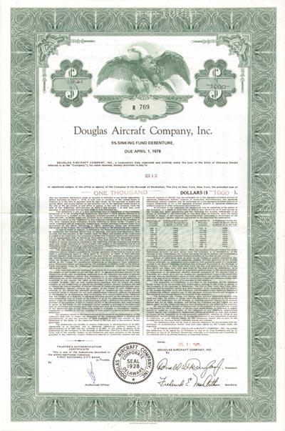 Douglas Aircraft Co., Inc.