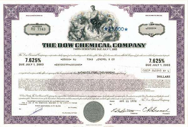 Dow Chemical Co - 50 Pieces