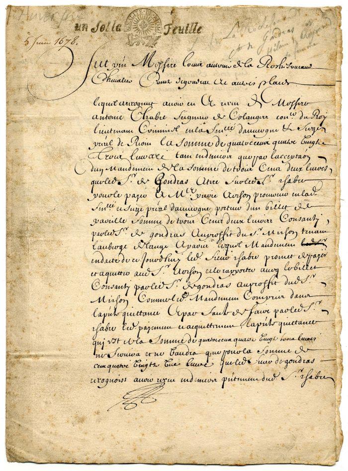 1678 Document