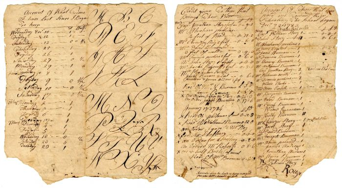 Account of Payment - 1783-84