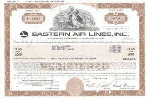 Eastern Air Lines, Inc. - Bond