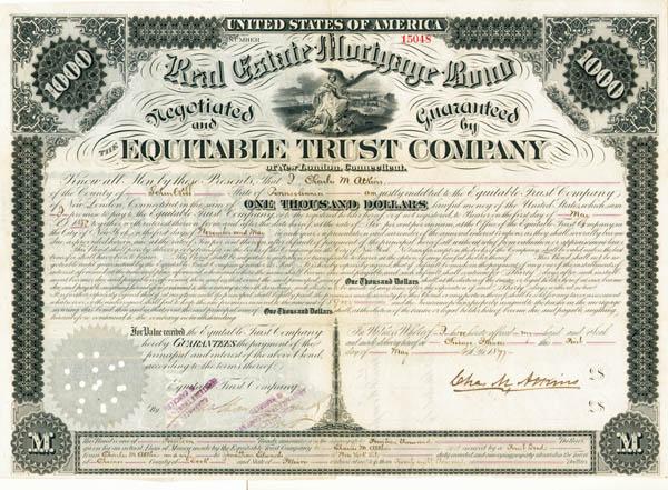 Equitable Trust Co - Bond