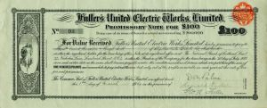 Fuller's United Electric Works, Limited