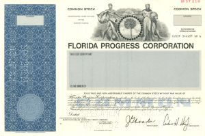 Florida Progress corporation