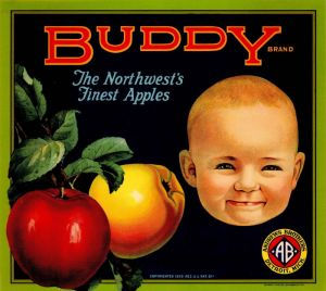 Buddy - Fruit Crate Label