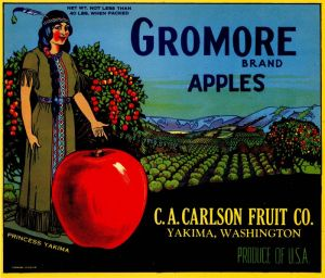 Gromore - Fruit Crate Label
