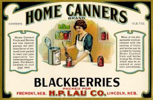 Home Canners - Fruit Crate Label