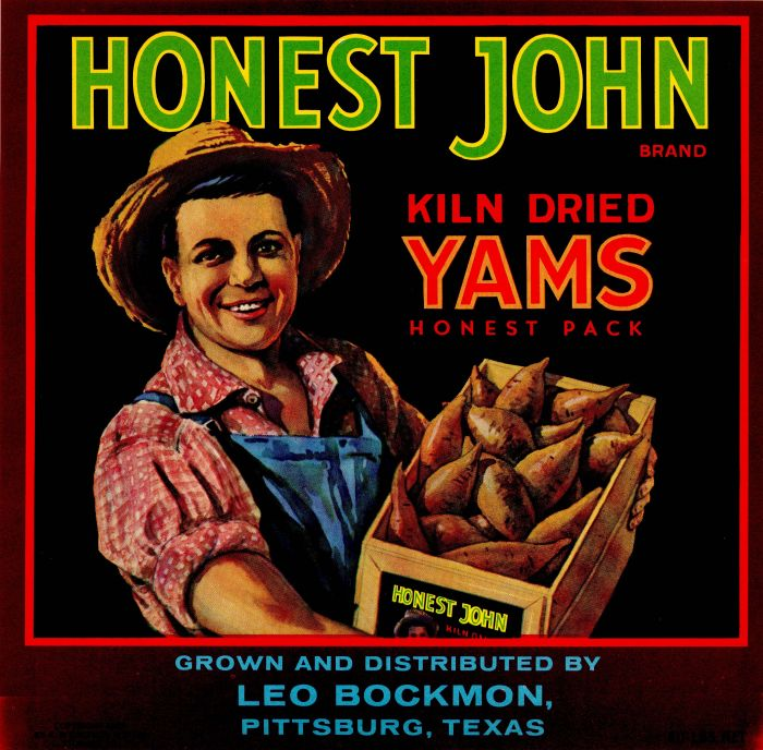 Honest John - Fruit Crate Label