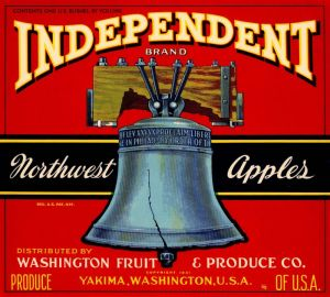 Independent - Fruit Crate Label