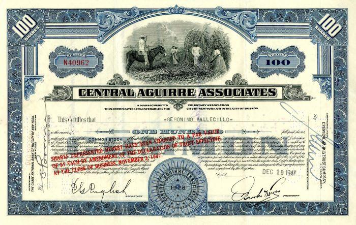 Central Aguirre Associates