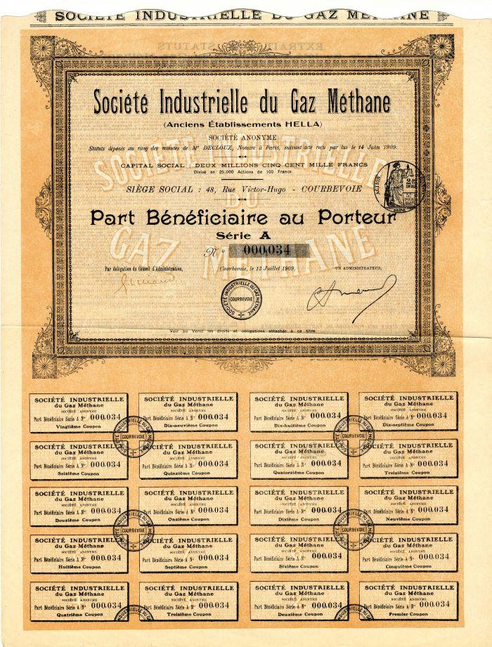 Societe Industrielle du Gaz Methane
