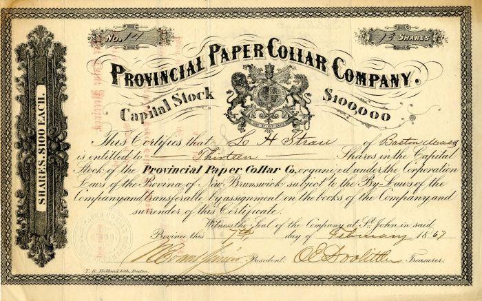 Provincial Paper Collar Company