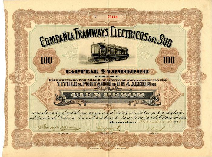 Compania Tramways Electricos del Sud