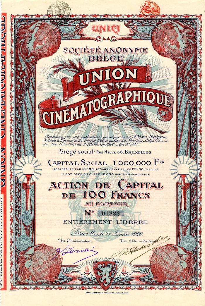 Societe Anonyme Belge Union Cinematographique