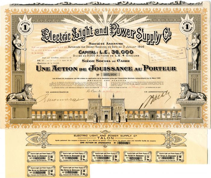 Electric Light and Power Supply Co.