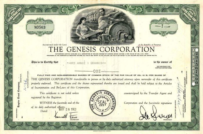 Genesis Corporation