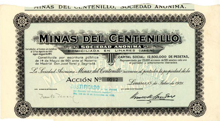 Minas Del Centenillo