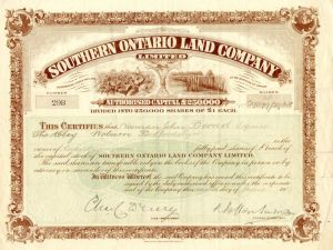 Southern Ontario Land Company Limited