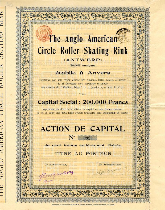 Anglo American Circle Roller Skating Rink