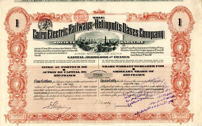 Cairo Electric Railways and Heliopolis Oases Company