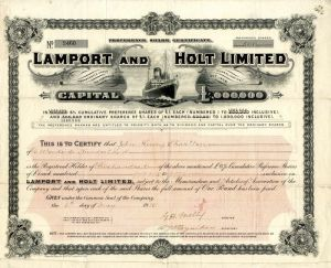 Lamport and Holt Limited