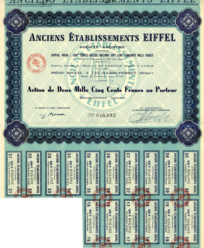 Anciens Etablissements Eiffel
