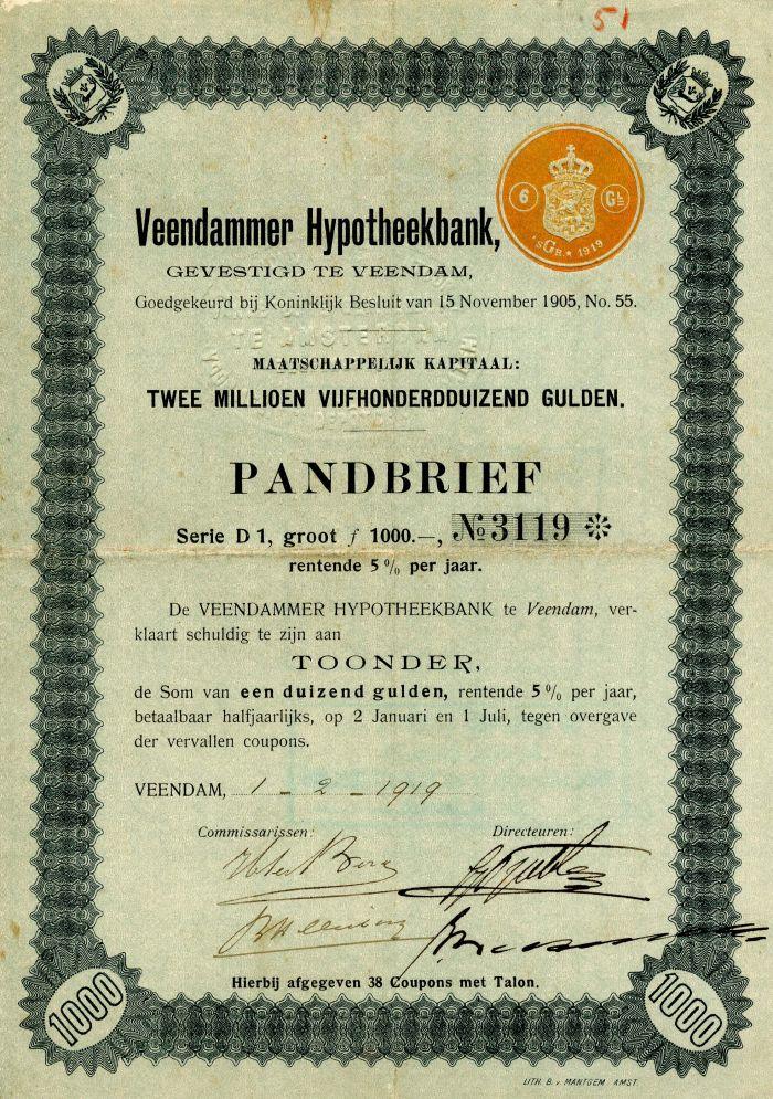 Pandbrief