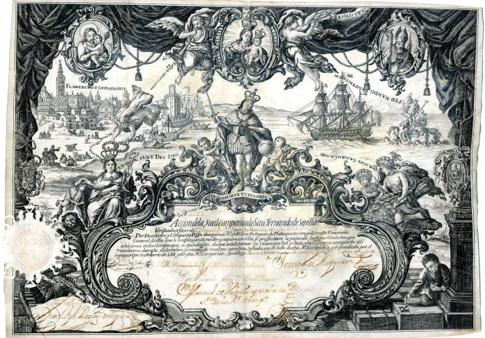 Spanish Shipping Share Certificate - Stock Certificate