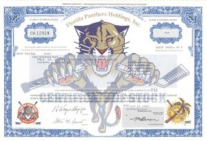 Florida Panthers Holdings, Inc - SOLD