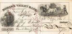 Francis Spinner - Signed Check - SOLD