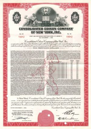 Consolidated Edison Company of New York, Inc. - Bond