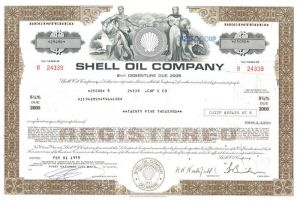 Shell Oil Company - Bond