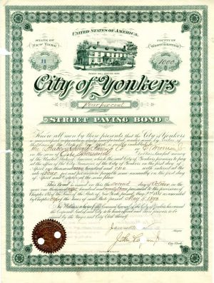 City of Yonkers - $1,000
