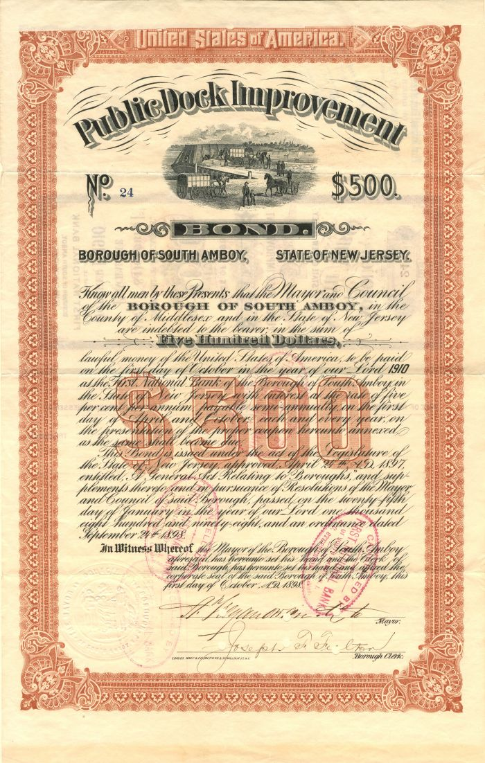 Public Dock Improvement - $500 Bond