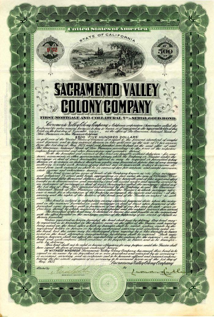 Sacramento Valley Colony Company