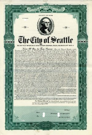 City of Seattle - $1,000