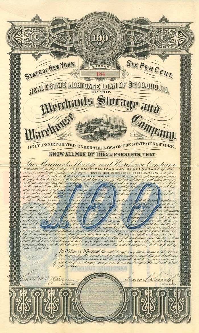 Merchants Storage and Warehouse Company (Uncanceled)
