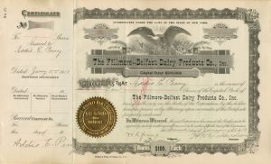 Fillmore-Belfast Dairy Products Co, Inc