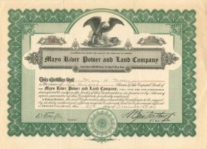 Mayo River Power and Land Company