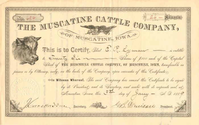 Muscatine Cattle Company