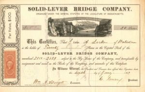Solid-Lever Bridge Company