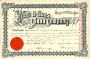 Vose & Sons Piano Company