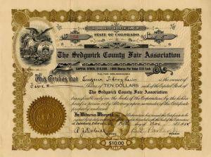 brown Ten 10 Copper Range of Michigan Type 1-1950/'s Stock Certificates