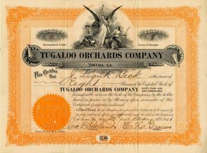 Tugaloo Orchards Company
