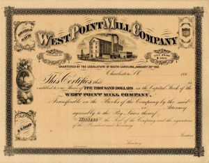 West Point Mill Company